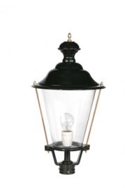 Buitenlamp lichtkop h-59cm antiek groen/koper serie Nuova nr 1591