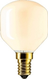 Dura kogellamp 40W E14 flame cappucino nr: 12-0578/cpn