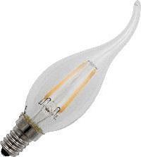 Global-Lux filament Tip kaarslamp E14 1W/15W 230V helder nr 6-183557