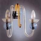 Boheems kristal helder glazen wandlamp nr 21 5068 002 0680