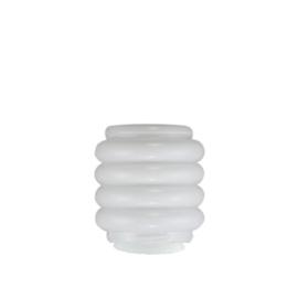 Glazen bol model Tire opaal wit d-20cm h-22cm gr-13,5cm nr 206.00