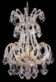 Boheems kristallen 10-lichts luchter nr 44 5017 010 9201