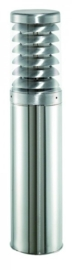 Buitenlamp staand serie Titano E27 RVS H45cm nr 10-33721E27