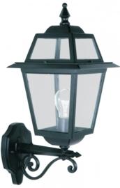 Buitenlamp wand 50cm serie Perla zwart nr: 130