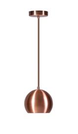 Hanglamp Ajaccio A bol 1-L koper nr 05-HL4404-05