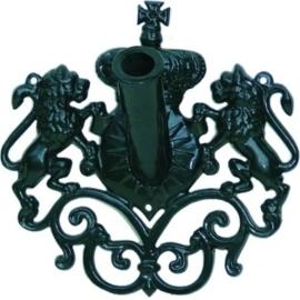Vlaggenmast houder antiek donker groen serie Nuova nr 1578