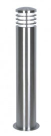 Buitenlamp staand serie Brero compleet RVS nr: 2057