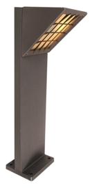 Buitenlamp LOSSE MAST serie Triangolo h 80cm E27 grafiet nr 3341