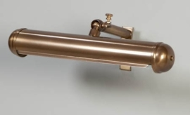Schilderijlamp oud messing 22cm model Pintura nr 05-sch1148-02