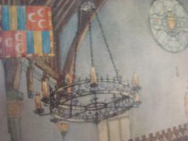 Sprookridders in de Ridderzaal in 1394