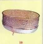 EPNS 10 - Ovale verzilverde bowl