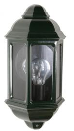 Buitenlamp wand half serie Mezza 2 kleuren leverbaar nr: FL162