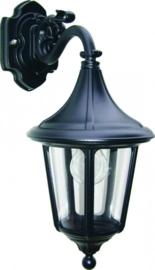 Buitenlamp wand neer serie Venezia ALU zwart nr 4011