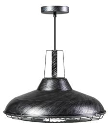 Hanglamp black silver serie Cage d46,5cm h139cm nr 05-HL4374-30