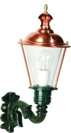 Buitenlamp combinatie wand h54cm serie Nuova nrs 1520+1530