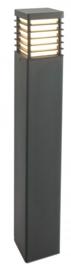 Buitenlamp serie Selham staand 85cm zwart nr: 3075