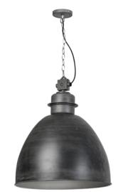Industriele fabriekslamp Factory XL vintage grijs d55cm h156cm nr 05-HL4455-9917