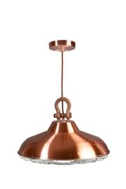 Hanglamp model Industry rood koper 45cm E27 nr 05-HL4366-05