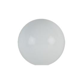 Glazen bol diameter 30cm opaal wit gat 11,5cm nr 3000.00G