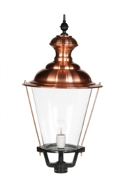 Buitenlamp lichtkop h-59cm koper serie Nuova nr 1531