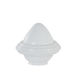 Glazen kap bolvormig model oliepot groot (3) nr: 300.00 opaal