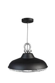 Hanglamp model Industry zwart metaal 45cm E27 nr 05-HL4366-30
