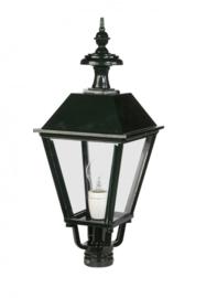 Buitenlamp lichtkop h-52 antiek groen serie Nuova nr 1540
