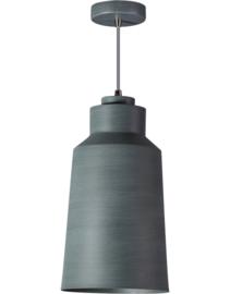 Hanglamp serie Grey d18cm h150cm vintage grijs nr 05-HL4440-99