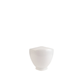 glazen bol model Schoolbol 15cm opaal wit d-15cm gr-85mm nr 476.00