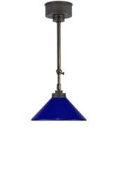Schuifstang 2x50cm midden bruin blauw opaal dakkap 25 nr 2Sb-25.40