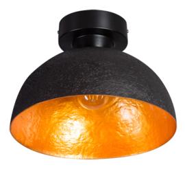 Plafonniere Mezzo Tondo zwart/goud d30cm h21cm nr 05-PL2140-3034G
