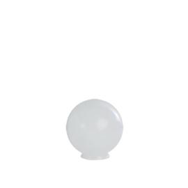 Glazen bol rond opaal diameter 15cm nr1 op foto 1500.00