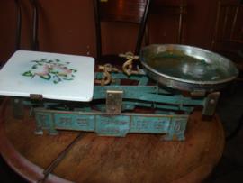 Oude weegschaal merk Eiwa 5kg