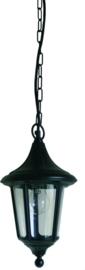 Buitenlamp hang serie Venezia ALU zwart nr 4017