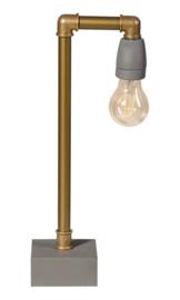 Tafellamp GassedUp messing E27 h40cm nr 05-TL3071-12