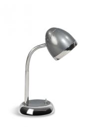 Tafellamp Harley serie donker grijs chrome 1-lichts nr 05-TL3027-93