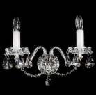 Boheems kristallen wandlamp nr 22 5993 002 0611