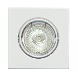 Inbouwspot Dublin 35mm vierkant kantelbaar wit 05-1169-31