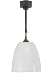 Schuifstang 2x50cm midden bruin opaal emmerkap d30cm nr 2Sb-2970.00
