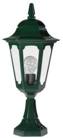 Buitenlamp sokkel serie Hexagon 2 kleuren leverbaar nr: 14022