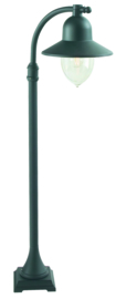 Buitenlamp mast h-118 serie Romanzo ALU zwart E27 nr 3020