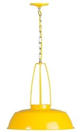Hanglamp Brindisi geel 1xE27 d-45cm nr 05-HL4359-3184