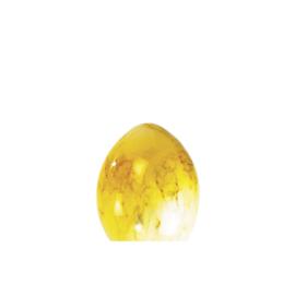Glazen bol Ei small nr1 op de foto gemarmerde kleur nr: 160.60