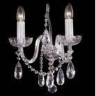 Boheems zuiver kristallen wandlamp nr 22 5177 002 0601