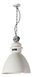 Industriele fabriekslamp Factory ivoor d40cm h156cm nr 05-HL4423-94