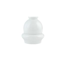Glazen kap schaatsmuts d13cm h14cm gr5,5cm E27 opaal nr 448.00