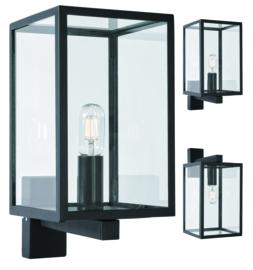 Buitenlamp wand down/up serie Lofoten zwart E27 h39cm IP44 nr 501943