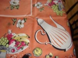 Vintage tafelkleed.              VERKOCHT