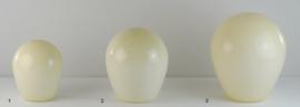Glazen kap bolvormig model Ballon klein (1) nr: 200.50 champagne