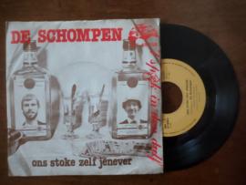 De Schompen met Ons stoke zelf jenever 1981 Single nr S20211253